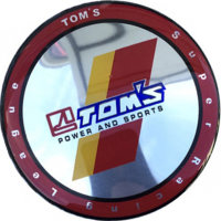 Колпачок на литые диски TOMS Power and Sports  68/64/10